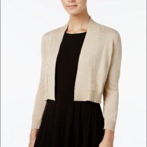 Calvin Klein Sparkly Cardigan BLACK